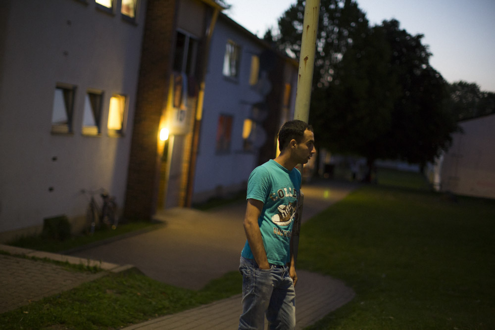 Fawad left to Germany. He is housed in a camp for asylum seekers. Lebach, Germany. September 1, 2013.